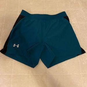 Women's Under Armor Fitted Heat Gear Shorts